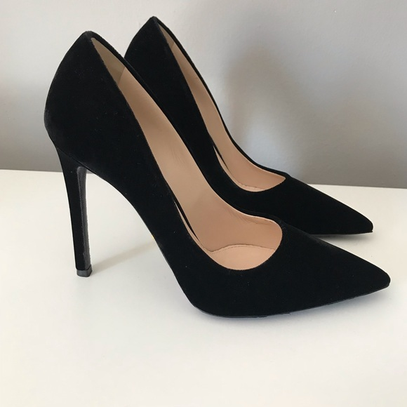 a71c95c86b3 Prada velvet black pumps like new